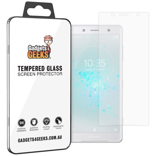9H Tempered Glass Screen Protector for Sony Xperia XZ2 Compact